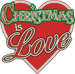 Christmas is Love t-shirts gifts
