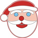 Santa Claus Face t-shirts gifts
