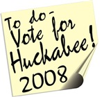 Vote Mike Huckabee Reminder T-shirts Gifts