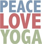 Peace Love Yoga T-shirts Gifts
