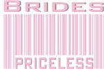 Brides Priceless Bar Code T-shirts Gifts