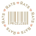 Sweet Rats Priceless Barcode T-shirts Gifts