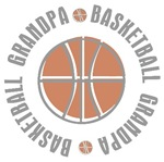 Basketball Grandpa T-shirts Gifts