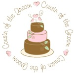 Cousin of the Groom Cake T-shirts Gifts