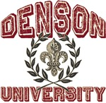 Denson Family Name University T-shirts Gifts