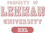 Property of Lehman University Name T-shirts Gifts