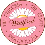 Winifred Princess Beauty Goddess T-shirt Gifts