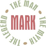 Mark the Man the Myth the Legend T-shirts Gifts