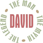 David the Man the Myth the Legend T-shirts Gifts
