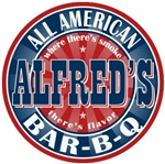 Alfred's All American BBQ T-shirts Gifts