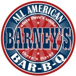 Barney's All American Bar-b-q T-shirts Gifts