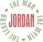 Jordan the Man the Myth the Legend T-shirts Gifts