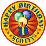 Happy Birthday Scotty Personalized T-shirts Gifts