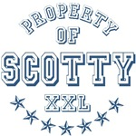 Property of Scotty Personalized T-shirts Gifts