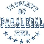 Property of Paralegal XXL T-shirts Gifts