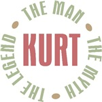 Kurt the Man the Myth the Legend T-shirts Gifts