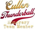 Cullen Twilight Thunderball Tees and Gifts
