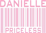 Danielle Girl's Name Priceless Tees Gifts