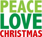 Peace Love Christmas Tees Gifts