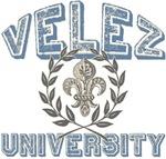 Velez Last Name University Tees Gifts