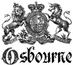 Osbourne Vintage Family Name Crest Tees Gifts