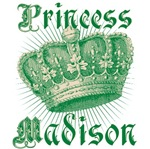 Princess Madison Vintage Name Tees Gifts