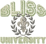 Bliss Last Name University Tees Gifts