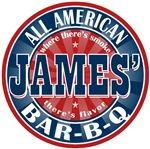 James' All American BBQ Tees Gifts