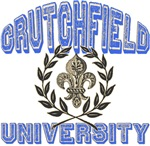 Crutchfield Last Name University Tees Gifts