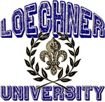 Loechner Last Name University Tees Gifts