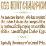 Easter Egg Hunt Champion Definition