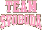 Team Svoboda Personalized Name Tees Gifts