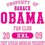 Property of Barack Obama Fan Club Tees Gifts