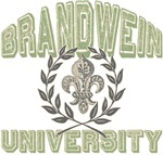 Brandwein Last Name University Tees Gifts