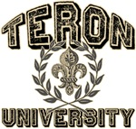 Teron Last Name University Tees Gifts