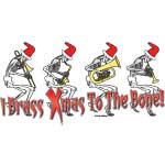 Christmas Skeleton Brass Band