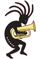 Tuba  Playing Kokopelli