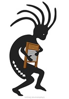 Washboard Kokopelli