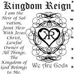 Women's Kingdom Reign #2 Black
