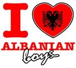 I love Albania boys