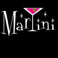 Martini with Glass Logo