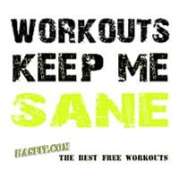 Keep Me Sane Workout Gear
