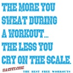 The Less You Cry Workout Gear