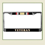 Veteran License Frames