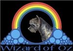 With all the colors of the rainbow, this Wonderful Wizard of Oz inspired design capturesToto Wizard of Oz.  The perfect gift for any Oz fan.