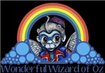 With all the colors of the rainbow, this Wonderful Wizard of Oz inspired design captures Flying Monkey Wonderful Wizard of Oz.  The perfect gift for any Oz fan.
