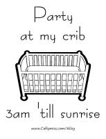 PARTY AT MY CRIB 3AM 'TILL SUNRISE