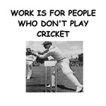 a funny cricket joke on gifts and t-shirts
