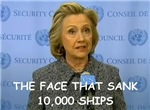 Hillary Clinton joke on gifts and t-shirts.