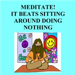 zen buddhist humor on gifts and t-shirts